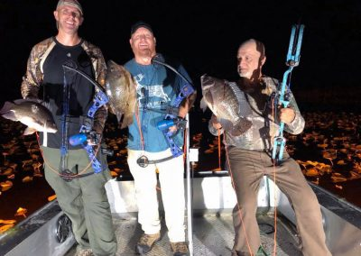Pictures of 2019 Bowfishing Expeditions in Southwest Florida with GatorRaiderz