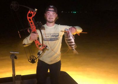 Trophy Fish and Stingray Caught While BowfishingHunting with GatorRaiderz